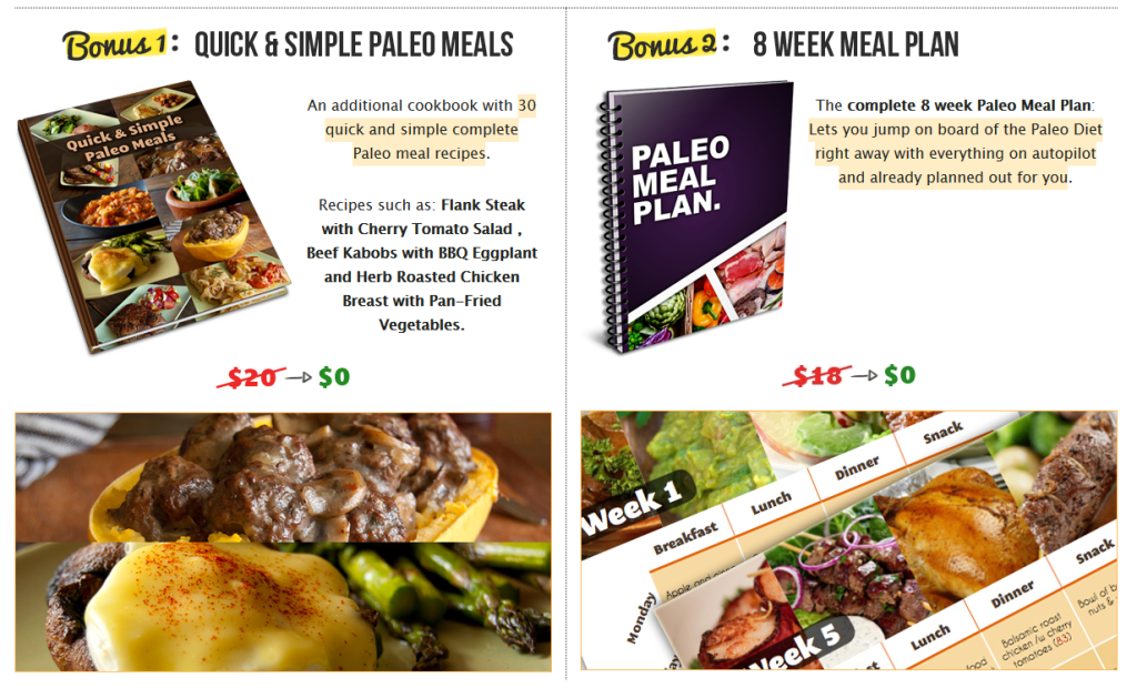 Paleo Secret 30 Day Guide to Paleo Meal Cooking for body fitness