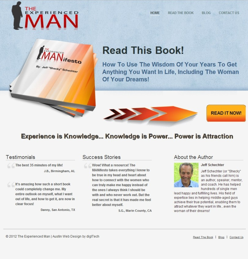 The Experienced Man eBook by Jeff Schechter