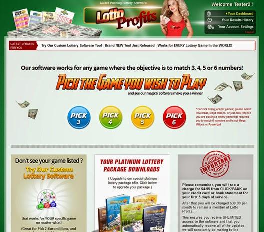 Lotto Profits Review – Lotto Profits Award Winning Lottery Software