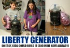 Liberty Generator plan by Abel Thomas