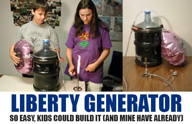 Liberty Generator plan by Abel Thomas