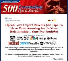 Download Here Now The 500 Lovemaking Tips and Sex Secrets eBook