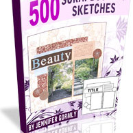 Download 500 scrapbooking sketches