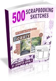 Download 500 scrapbooking sketches
