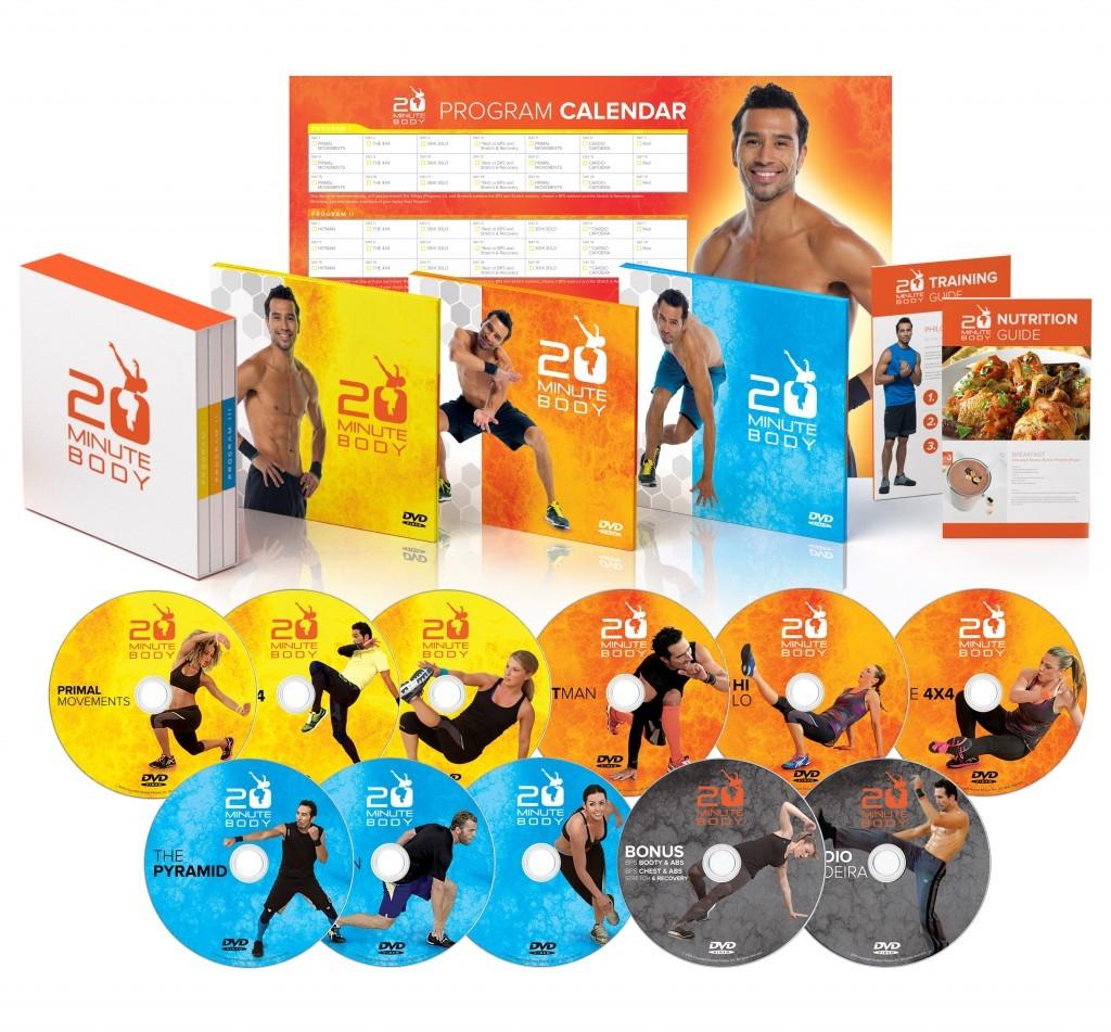 Download 20 Minute Body program by Brett Hoebel