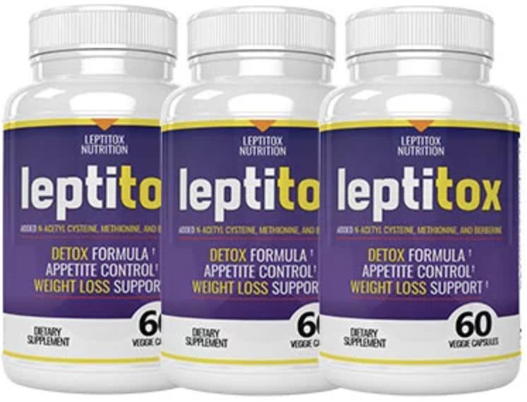 Leptitox Bottles